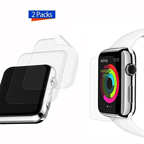 42mm Apple Watch Screen Protector, iMOMO [2 Pack] iWatch [Full Coverage] Soft TPE Ultra HD Screen Protector Film for Apple Watch Series 2 Anti-bubble, Scratch Resistant