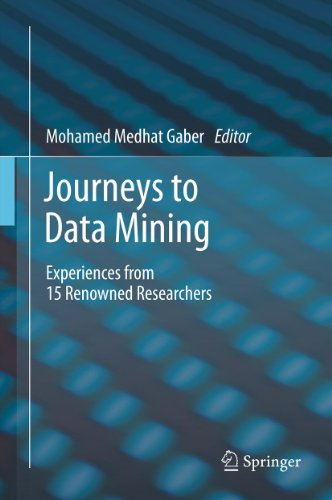 Download Journeys to Data Mining: Experiences from 15 Renowned Researchers Pdf