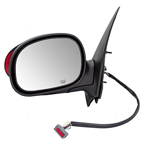 Drivers Power Side View Mirror Heated Memory Signal Lamp Replacement for Ford Lincoln SUV YL1Z17683BAA AutoAndArt