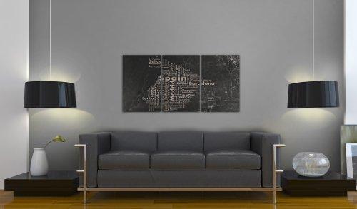 murando - Cuadro 120x60 - impresión de 3 Piezas en Material ...