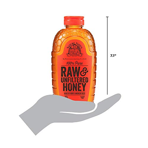 Nature Nate's 100% Pure Raw & Unfiltered Honey; 32-oz. Certified; Enjoy Honey's Balanced Flavors, Wholesome Benefits and Sweet Natural Goodness, 5 Pack by Nature Nate's (Image #3)