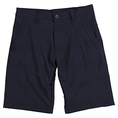Burnside Men's Lightweight Stretch Hybrid Board Shorts (Denim, Size 36)