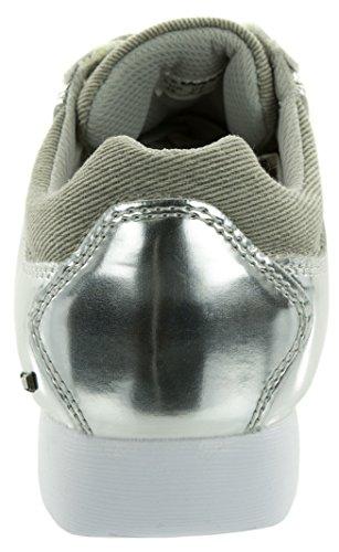 Beppi Mädchen Sneakers, Damenschuhe, Silberschuhe, Schnürhalbschuhe, Versch. Größen