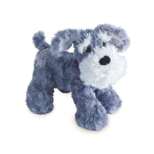 (Bedtime Originals Plush Gray/White Dog Stuffed Animal - Whiskers)
