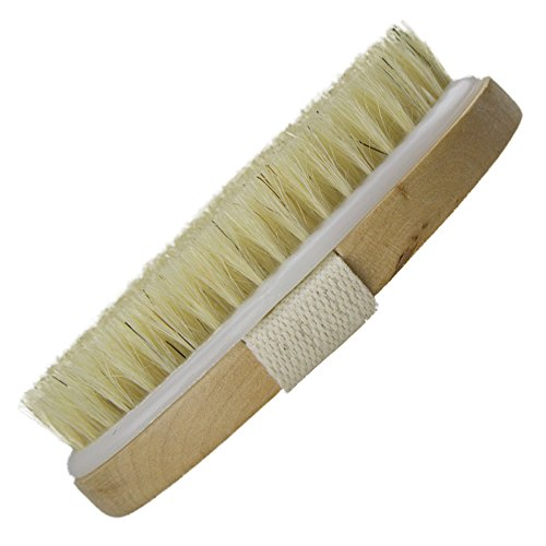 Dry Skin Body Brush - Improves Skin's Health and Beauty - Natural Bristle - Remove Dead Skin and Toxins, Cellulite Treatment, Improves Lymphatic Functions, Exfoliates, Stimulates Blood Circulation 7