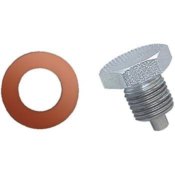 CSI C1614 Chrome Magnetic Drain Plug 1//2 x 20