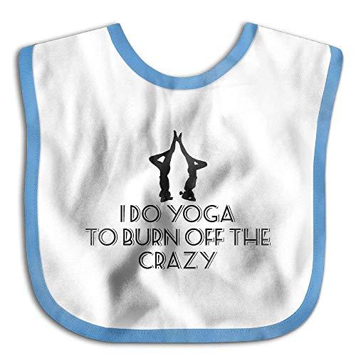 o Burn Off The Crazy Waterproof Bib The Baby Bib cute lovely Baby skin wrap ()