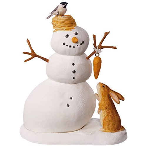 Hallmark Keepsake 2017 Marjolein Bastin Winter White Snowman Christmas Ornament