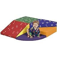 ECR4Kids SoftZone Colorful Tiny Twisting Foam Climber Playset for Children
