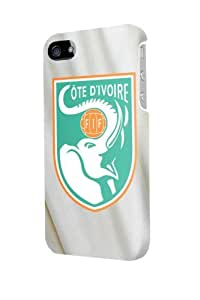 ip50207 ivory coast worldcup 2014 Glossy Case Cover For Iphone 5/5S by mcsharks