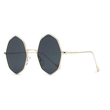 DERTILP Gafas de sol Sunglasses Ladies Retro Small Round ...