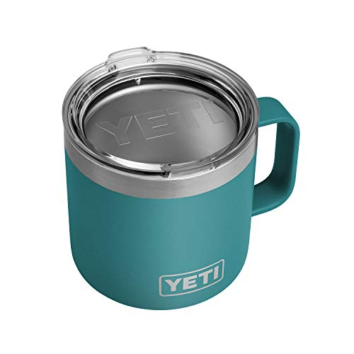 YETI River Green Rambler Mug 14 Ounce