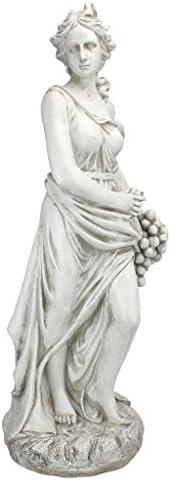 Design Toscano AL53274 Autumn Goddess of The Four Seasons Statue