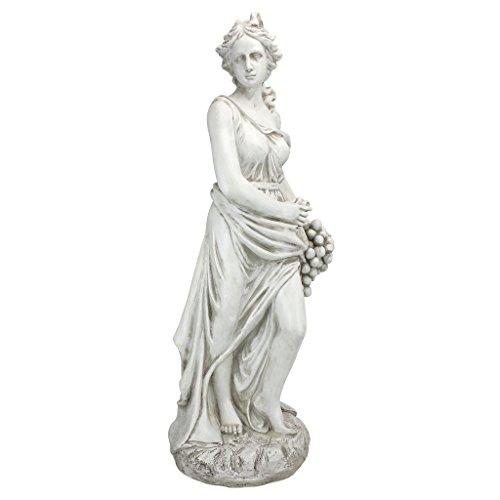 Design Toscano AL53274 Autumn Goddess of The Four Seasons Statue, Ancient Ivory