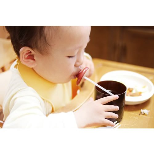 motch : Japan wooden lacquareware Pacifier (Binky) aid device for a straw from Yamanaka Ishikawa Japan [Standard ship by int'l e-packet: includes tracking & insurance] Blue