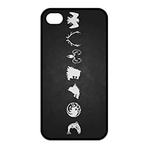 Game of Thrones Customize New Brand Iphone 4 4s Case (TPU)