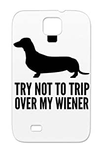 Try Dogs Wiener Dogs Over Not To Trip DACHSHUND Sex Animals Nature Naughty Dog My Black For Sumsang Galaxy S4 Try Case Cover