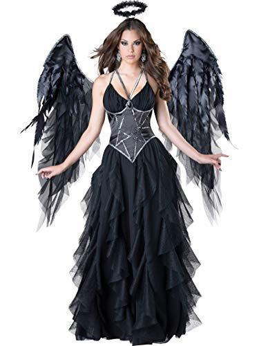 Beautiful Angel Costumes (InCharacter Costumes Women's Dark Angel Costume, Black,)