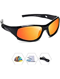 Sports Polarized Kids Sunglasses For Boys Girls Children...