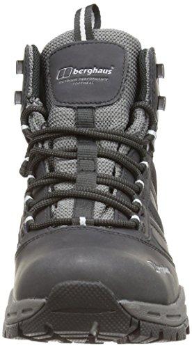 Berghaus Men's Expeditor AQ Waterproof Ridge High Rise Walking Boots Black (Black/Silver Bb6) KcS6FRcJLG