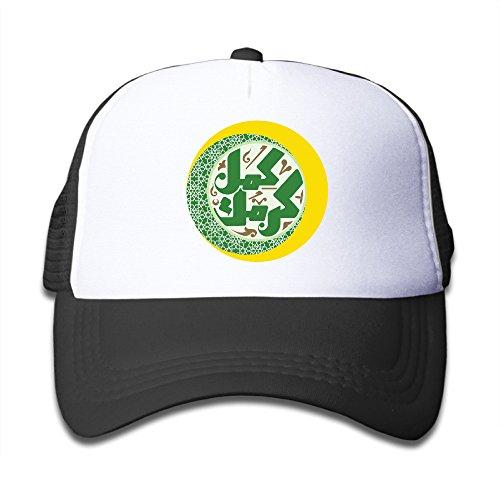 Price comparison product image Ramadan Children's Black Cute Sprots Adjustable Baseball Trucker Caps For Girls