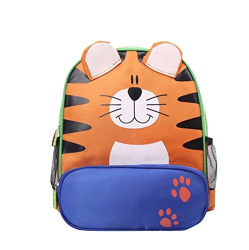 Sac à dos enfant, Scolaire, Loisirs, Sac d'école d'éducation de la petite enfance de dessin animé mignon nouveau sac à dos de bébé 3-6 ans Tigre