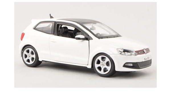 VW Polo V GTI, blanco , Modelo de Auto, modello completo, Bburago ...