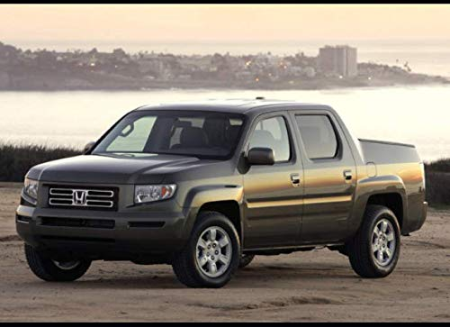 Honda Ridgeline RTL: 120 pages with 20 lines you can use as a journal or a notebook .8.25 by 6 inches.