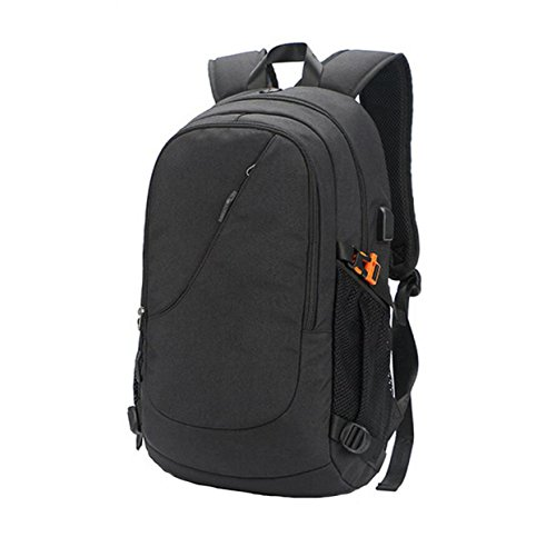 Black Travel Anti Computer Women Theft Men Student Bag Rechargeable Backpack Waterproof And Shoulder xCw7qfcFUq