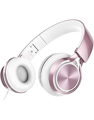 278473ba969 AILIHEN MS300 Headphones, Stereo Foldable Wired Headset for Girls Boys IOS  Android Smartphone Laptop Tablet