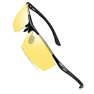 SOXICK 2018 New Style Night Vision Glasses For Driving Polarized-Anti-Glare Night Driving Glasses