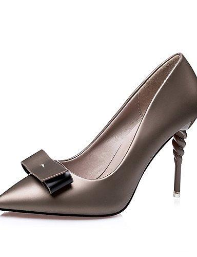 GGX/Westland? Damen Stiletto Heels/Plattform/spitz Fuß Schweinsleder Party & Abend/Kleid/Casual Schleife/ pink-us5 / eu35 / uk3 / cn34