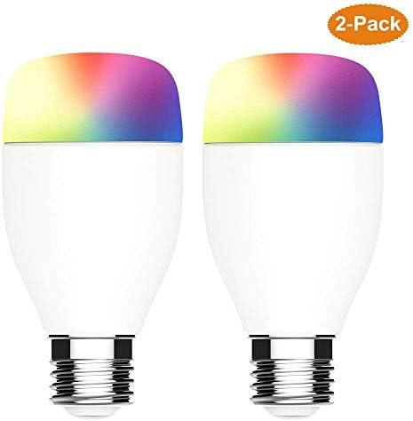 2-Pack Smart LED Light Bulb