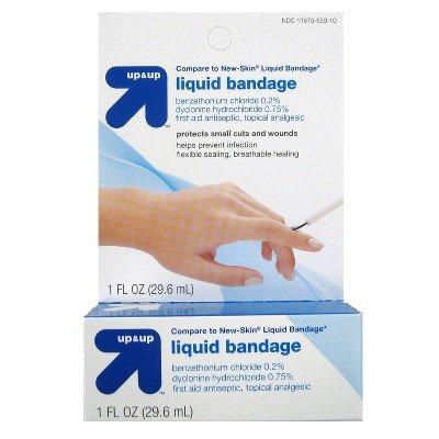 Up & Up Liquid Bandage, 1 fl oz (Compare New-Skin Liquid Bandage) by up4