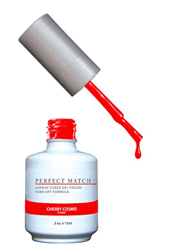 LECHAT Perfect Match Nail Polish, Cherry Cosmo, 0.500 Ounce