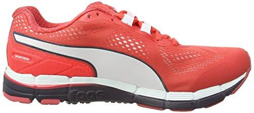 PUMA Faas 600 v3 Wns - Zapatillas de running para mujer rojo - Rot (cayenne-white-periscope 04)