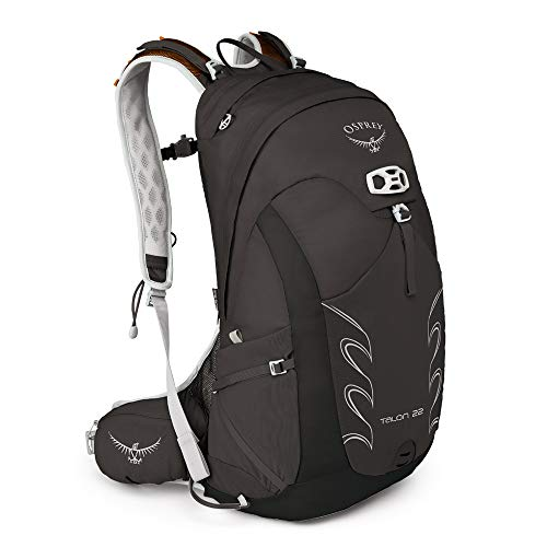 Osprey Packs Talon 22 Men's Hiking Backpack, Medium/Large, Black