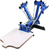 VEVOR Screen Printing Machine 4 Color 1 Station