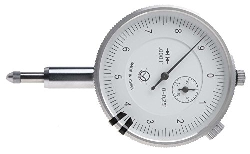VDI-30 1/4'' Dial Indicator, reads .0001'' by Dial