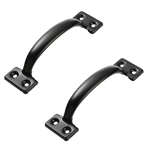 "Lizavo V171 6-1/2"" Pulls in Black- 2 Pack"
