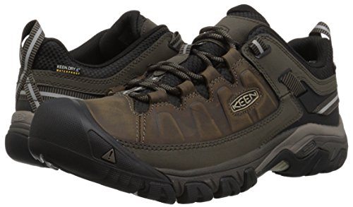 3e584b69941d Keen Men s Targhee iii Leather wp-m Hiking Shoe Bungee Cord Black 7 M