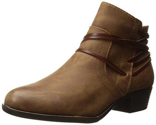 Madden Girl Women's Become Ankle Boot Cognac Paris