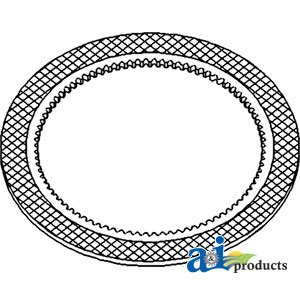 A&I Products Disc, Clutch Replacement for John Deere Part Number RE151059 ()