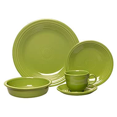 Fiesta 5-Piece Place Setting, Lemongrass
