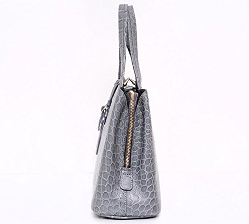 Bellina Wani Tote Shoulder Bag BB1218 (Grey) by Pristine&BB (Image #2)