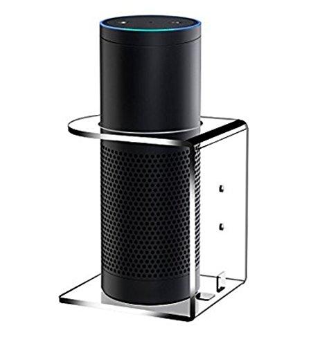 best x super acrylic speaker stand for alexa jbl flip 4 bluetooth speaker holder clear. Black Bedroom Furniture Sets. Home Design Ideas