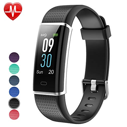 Willful Fitness Tracker, Heart Rate Monitor Fitness Watch Activity Tracker 14 Modes Pedometer with Step Counter Sleep Monitor Call SMS SNS Notice for Women Men Kids Color Screen,IP68 Waterproof