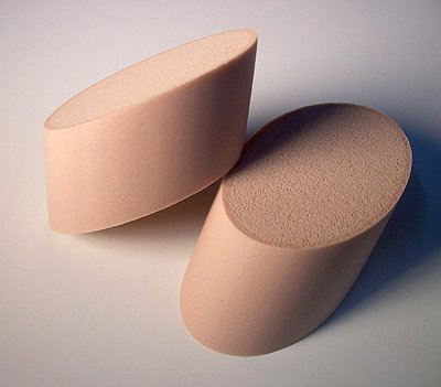 Soft Colorfin Art Sponges (Angle Slice Round)