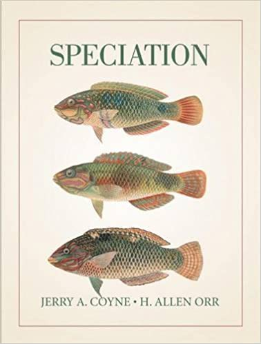 Book By Jerry A. Coyne - Speciation (2004-05-16)