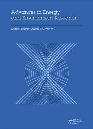 Advances in Energy and Environment Research: Proceedings of the International Conference on Advances in Energy and Environment Research (ICAEER2016), Guangzhou City, China, August 12-14, 2016-cover